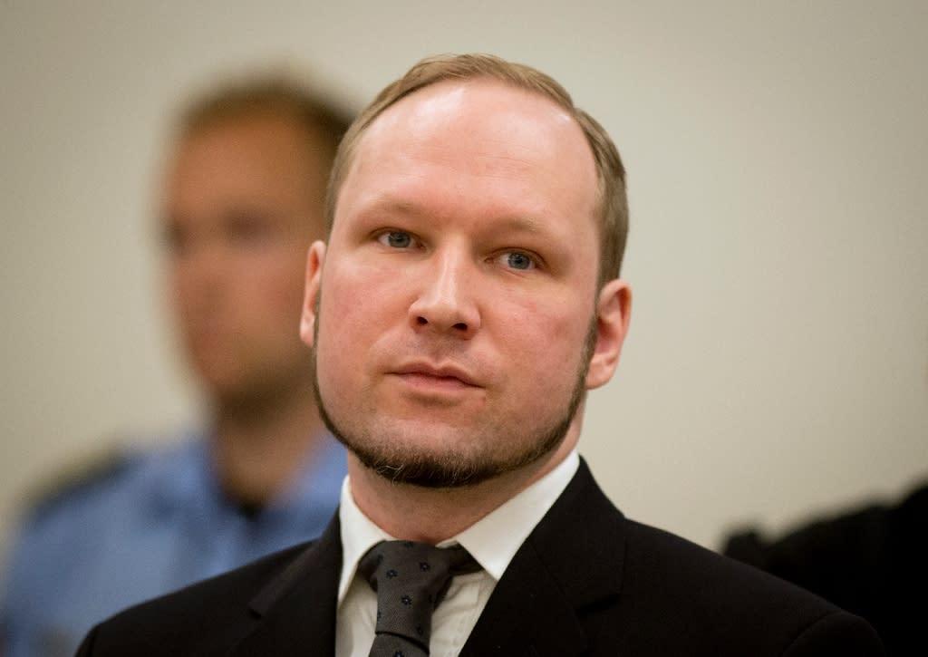 Anders Behring Breivik pictured in court in Oslo in August 2012 (AFP Photo/Odd Andersen)