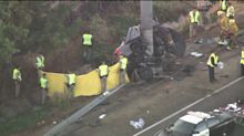 4 Killed in High-Speed Crash on Southern California Freeway