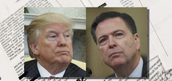 Trump's shifting rationale for firing Comey