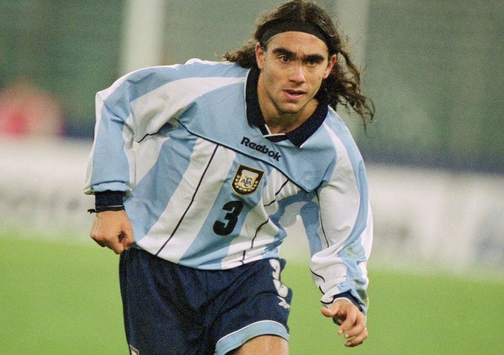 Juan Pablo Sorin Argentina Italy friendly 2001