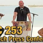 UFC 253 Beach Press Conference: Adesanya and Costa throw the smack down!