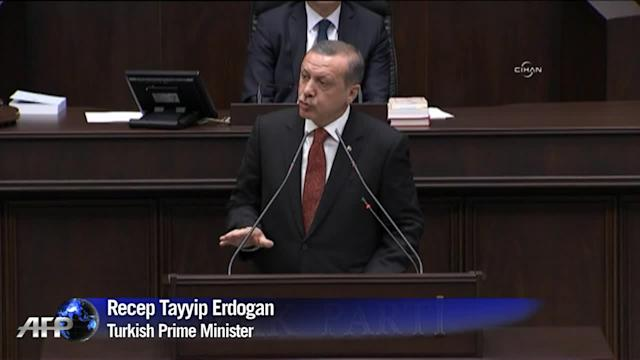 Turkey PM accuses Israel of 'state terrorism' over Gaza
