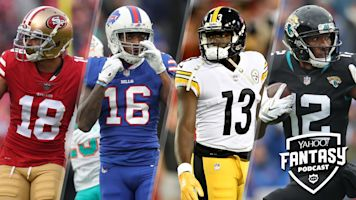 Questionable WR groups & AFC/NFC North win totals
