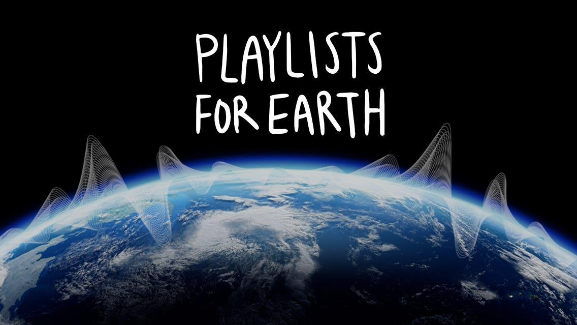Coldplay and Brian Eno curate playlists to combat climate change