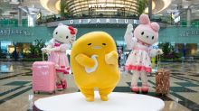 Catch Hello Kitty, Gudetama, and other Sanrio characters at Singapore's Changi Airport