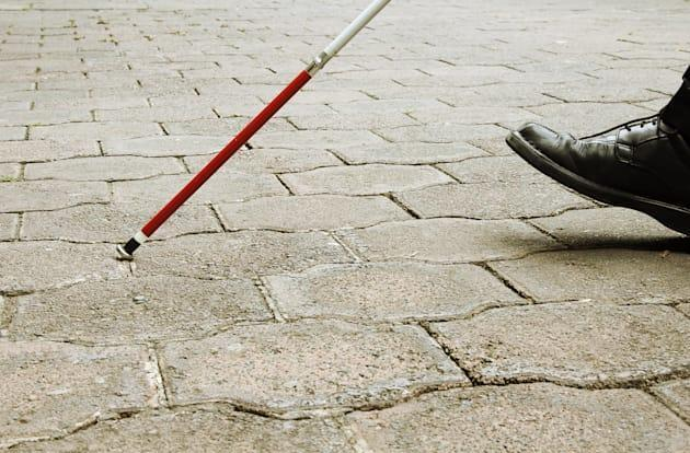 Students design a facial recognition cane for blind people