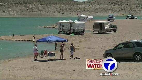Elephant Butte Drought Problems