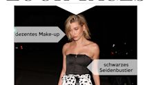 Look des Tages: Hailey Baldwin im Casual-Dessous-Look