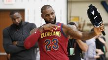 LeBron James 'hasn't changed' mind on Cleveland, still leaves open an exit