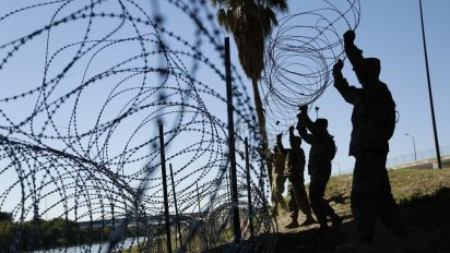 U.S. border town worries about military fence impact