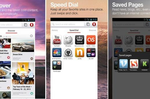 Opera browser beta for Android hits Play store with WebKit horsepower