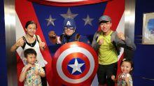 香港迪士尼樂園 ☀ HK Disneyland ☀ 炎夏中化身Marvel小英雄