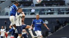 Calvert-Lewin nets, James shines as Everton beats Tottenham