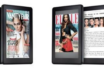 Amazon bringing 400 magazines, newspapers, flame retardants to Kindle Fire