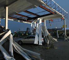Door-to-door checks after tornado damage in Missouri capital