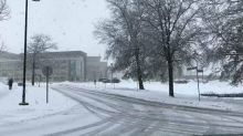 'Very Large' Snowflakes Fall in Oswego, New York