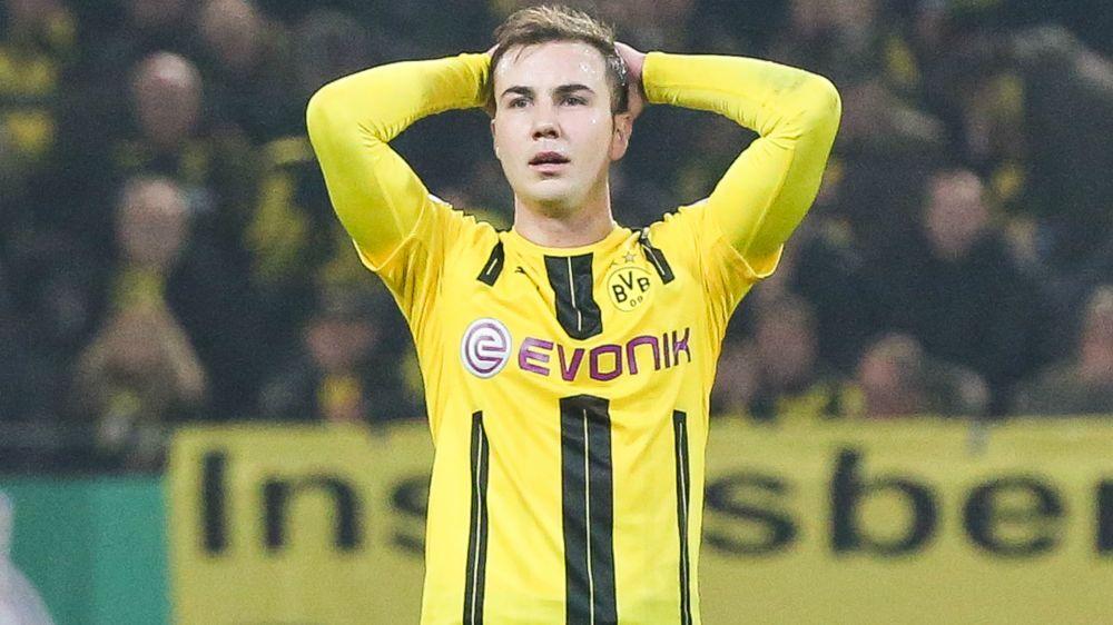 Borussia Dortmund confirma que Götze está fora da temporada