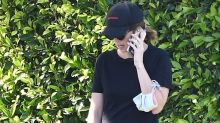 Katherine Schwarzenegger's Baby Bump Is Visible as She Steps Out for a Dog Walk
