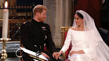 The sweet moment between Harry and Meghan that you probably missed