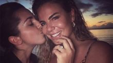 Fiona Falkiner shares sweet snap to announce engagement