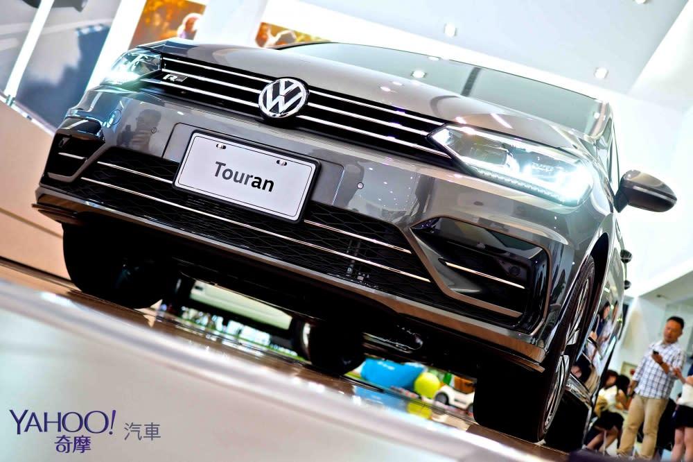 裡外加R加很大!2018年式Volkswagen Touran推出R-Line式樣