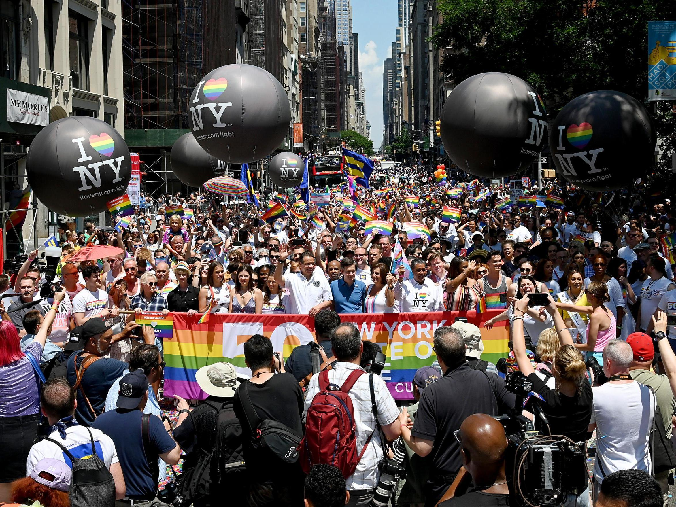 Gay pride is one of the most busy weekends of