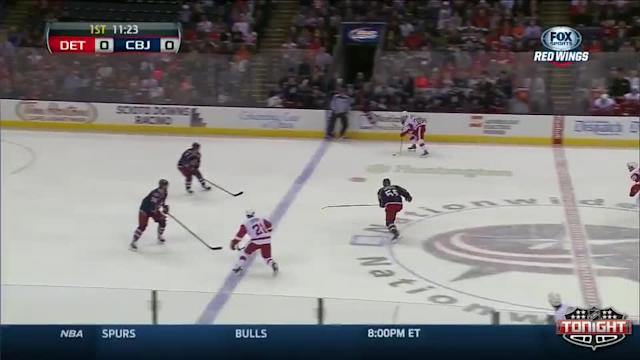 Detroit Red Wings at Columbus Blue Jackets - 03/11/2014