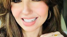 ¿Se le fue la mano a Thalía con el Photoshop?; mira esta imagen