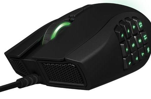 Razer revamps Naga MMO mouse with mechanical switches, left-handed model