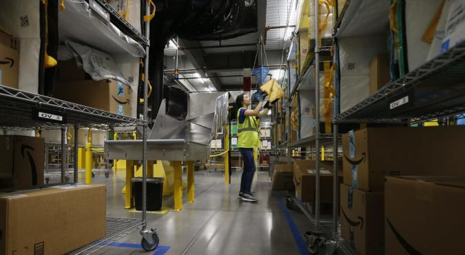 Amazon prioritizes cleaning, medical supply shipments to warehouses