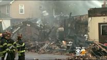 Business Owners Vow To Rebuild After Fire Rips Through Stores On Long Island