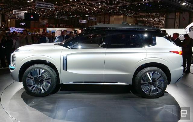 Mitsubishi shows off the future of its plug-in hybrid SUV line