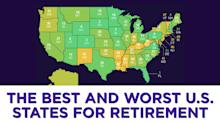 The best and worst U.S. states for retirement