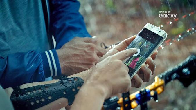 Leaked teaser video shows off waterproof Galaxy S7, S7 Edge