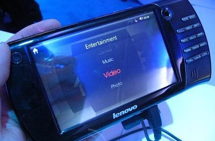 Hands-on with Lenovo's new Menlow MID