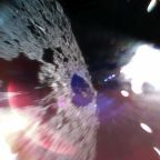 The first photos from the surface of an asteroid looks like something from a space horror movie