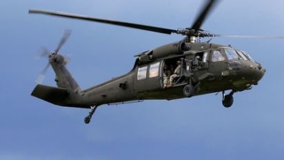 Army helicopter with five aboard crashes off Hawaii: U.S. Coast Guard