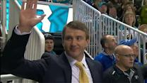 San Jose Sharks honor Evgeni Nabokov