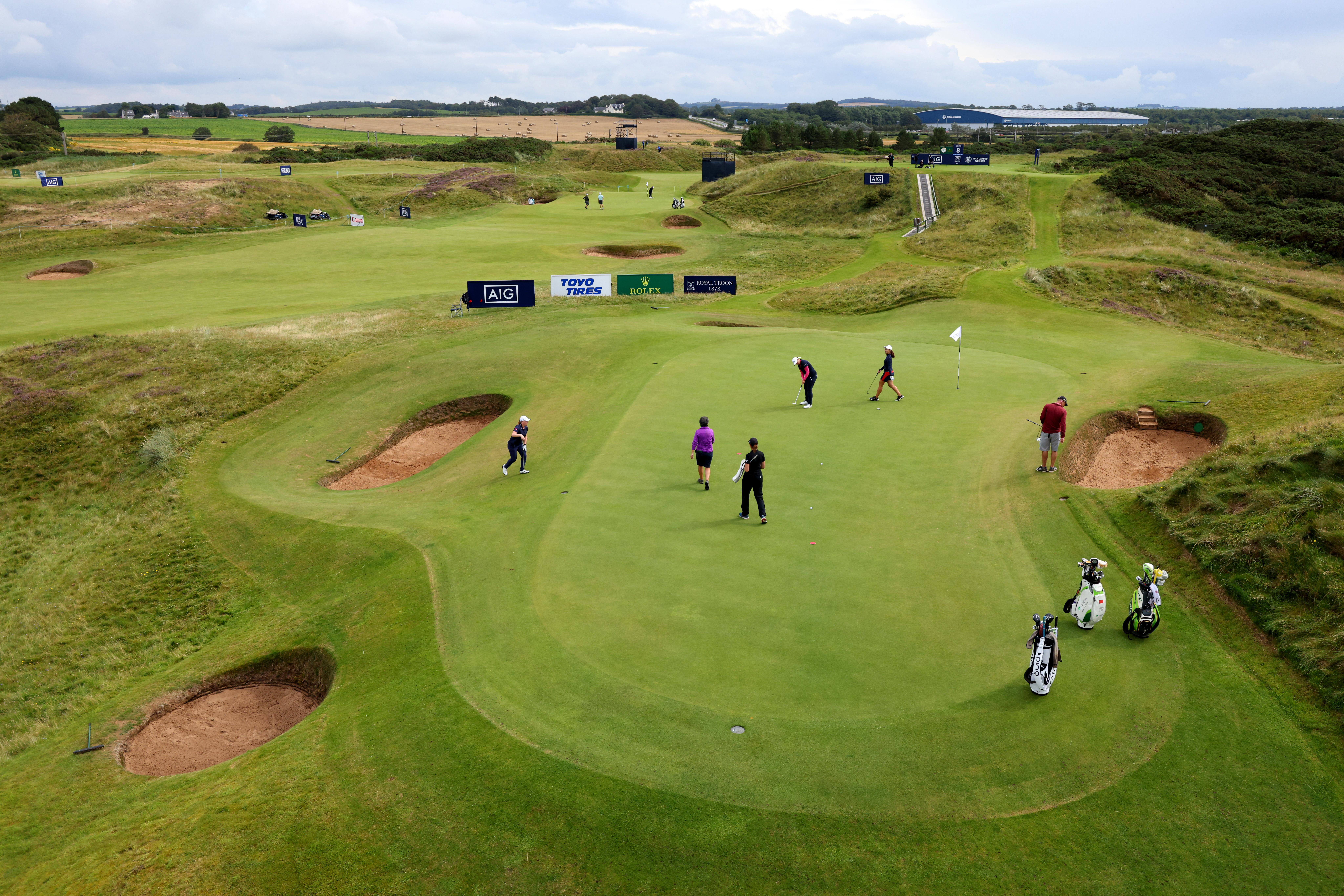 What LPGA stars are saying about the Postage Stamp at their Royal Troon debut