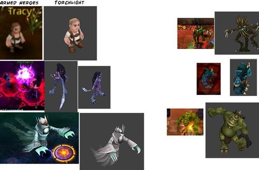 Torchlight art found in iOS MMO; MMO dev denies theft against strong evidence