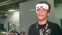 Drone league allows racers to crash, and survive, at 160 km/h