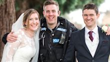 Wedding photo shoot interrupted by police drugs chase in Oxford
