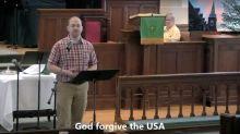 Church Minister Turns 'God Bless The USA' Into 'God Forgive The USA'