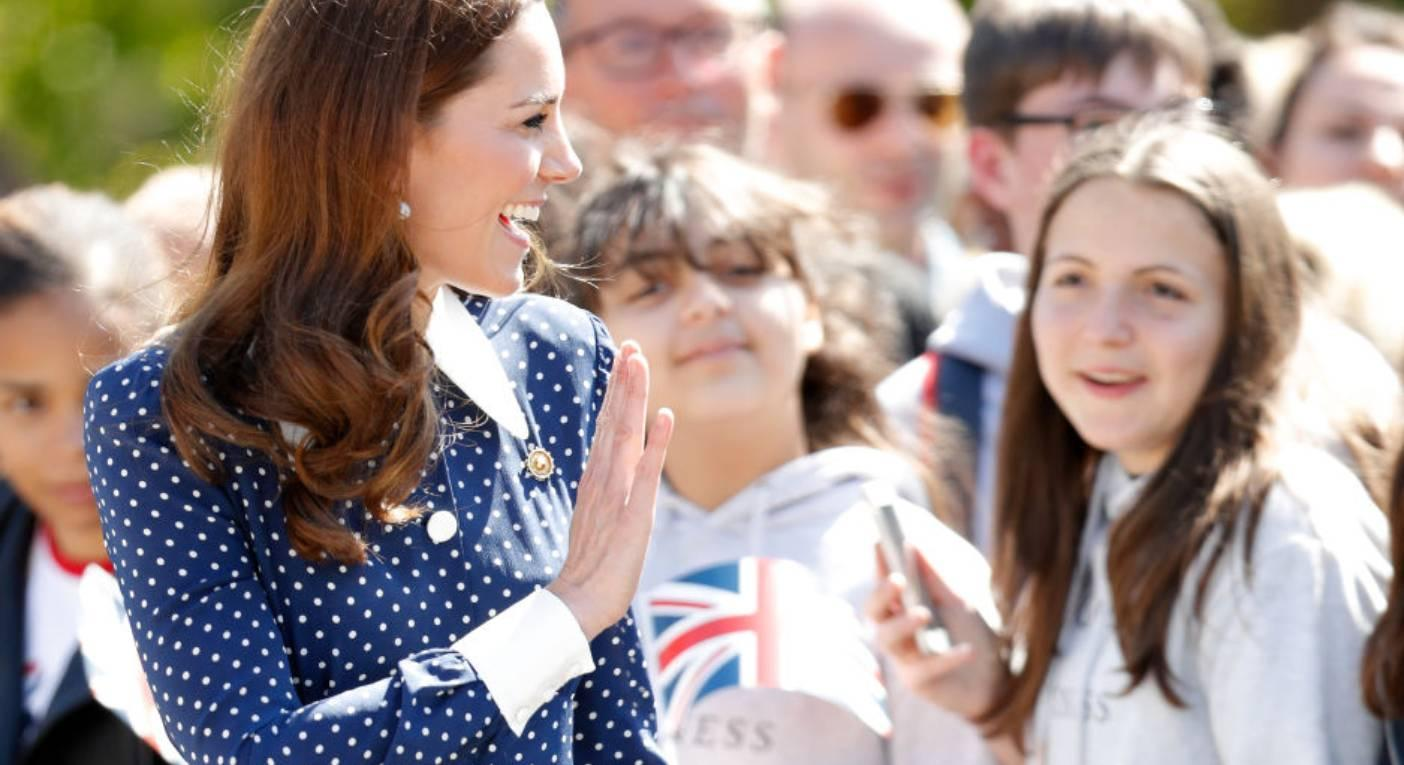 An updated version of Duchess of Cambridge's polka dot dress is available right now