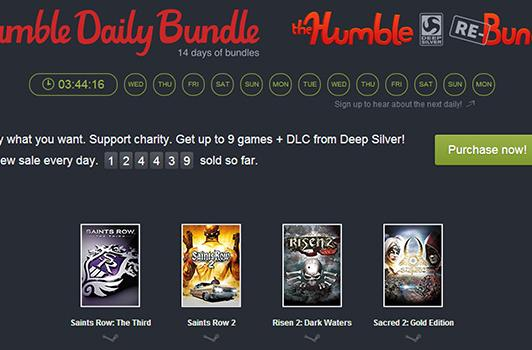 Get a different Humble Bundle every day for the next two weeks