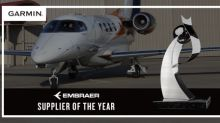 Garmin® earns best supplier award from Embraer for the tenth time