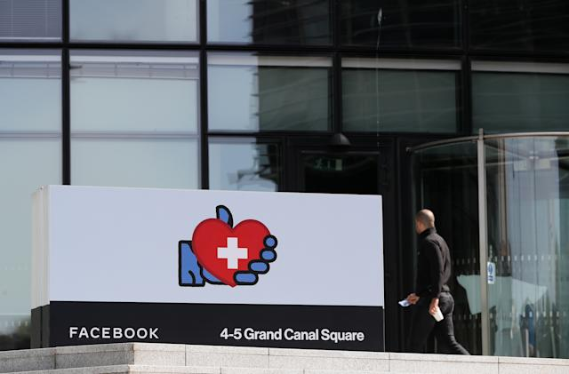 Facebook is winding down some of its Irish tax havens