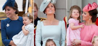 Why Charlotte and Kate's outfits always coordinate