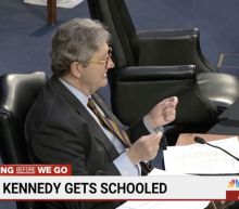 GOP Sen. John Kennedy grilled Stacey Abrams on Georgia voting law, and Democrats are glad he did