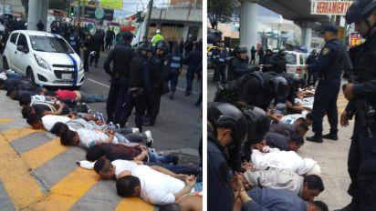 4 muertos y 25 detenidos deja balacera en Iztapalapa